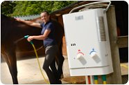 Hot Horse Shower Portable